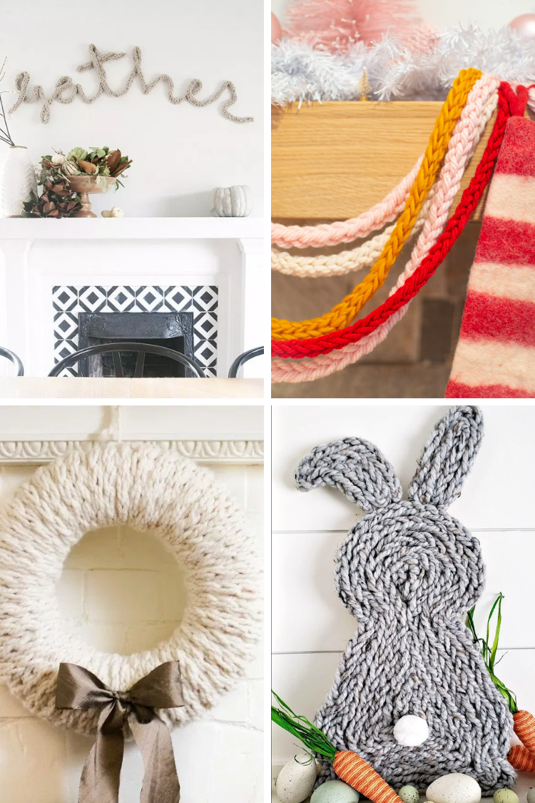 20 FANTASTIC FINGER KNITTING PROJECTS.