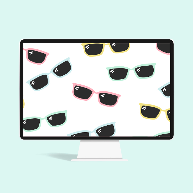 FREE SUMMER SUNGLASSES WALLPAPER FOR PHONE OR DESKTOP #FREEBIE #WALLPAPER #PHONEWALLPAPER