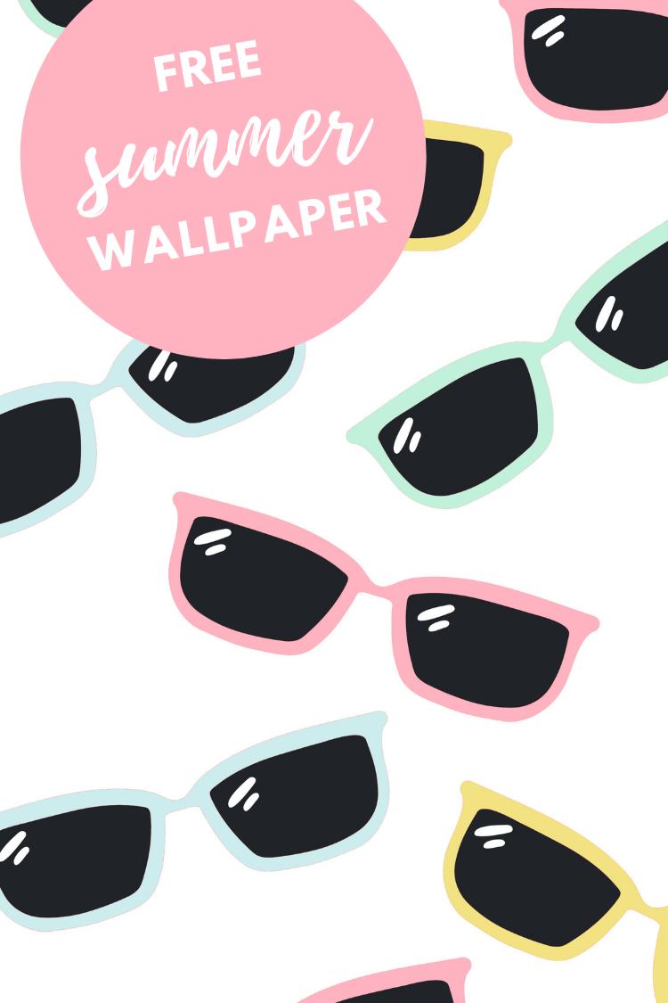 FREE SUMMER SUNGLASSES WALLPAPER FOR PHONE