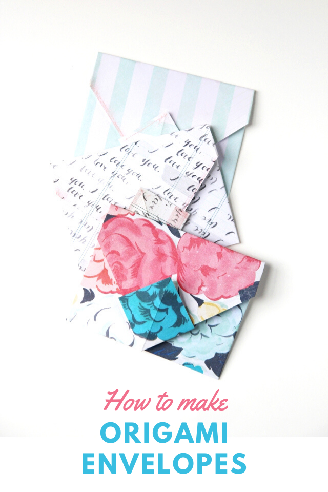 How to Make an Easy Origami Envelope | 960x640