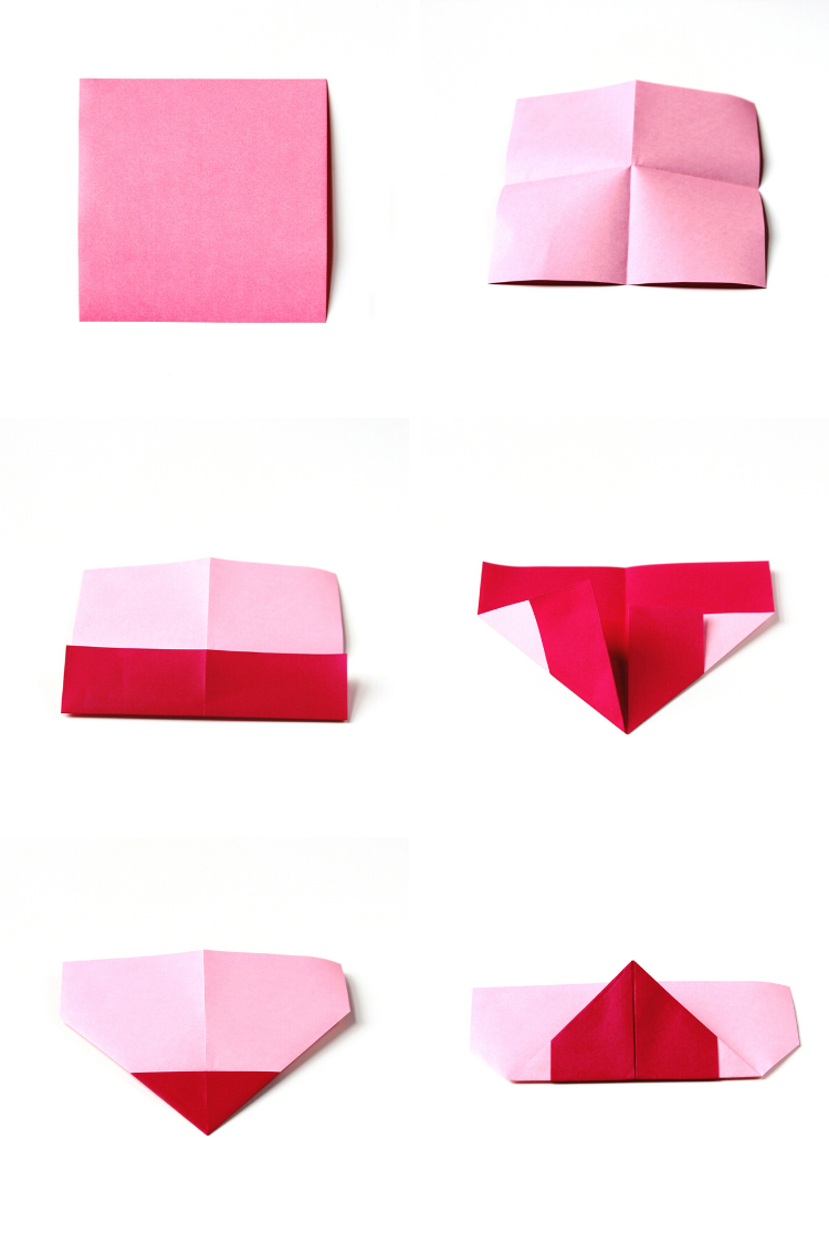 Valentine's Day Crafts - How to Fold an Origami Heart Envelope ... | 1125x750