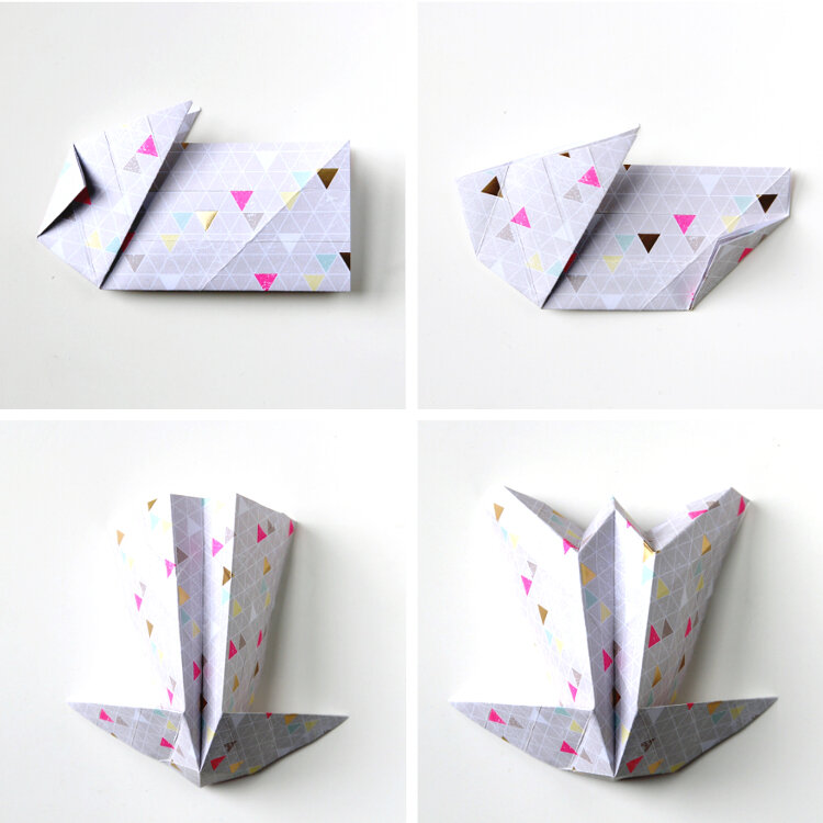 DIY ORIGAMI EASTER BUNNY BASKETS. — Gathering Beauty | 750x750