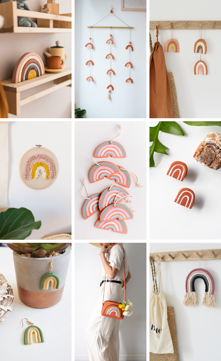 20 RAINBOW CRAFTS FOR ADULTS. — Gathering Beauty