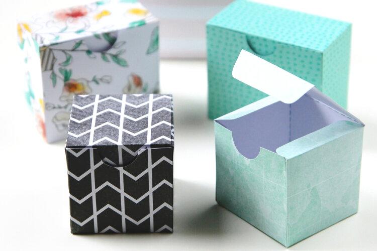 Diy Gift Box Template Gathering Beauty