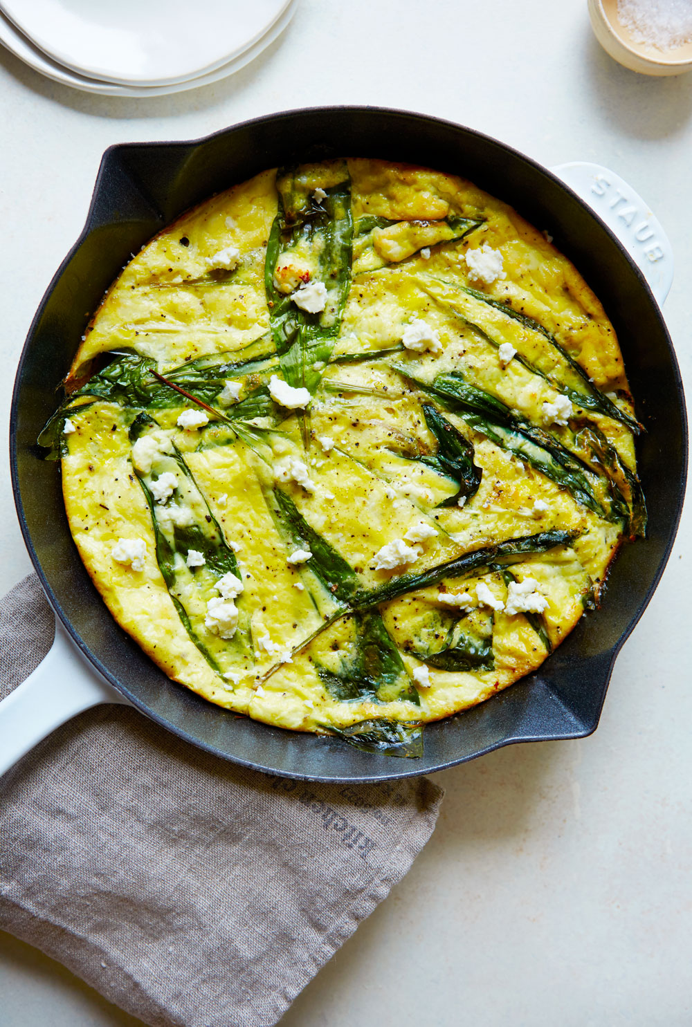 http://camillestyles.com/food-and-drink/morning-meals/spring-onion-feta-frittata/