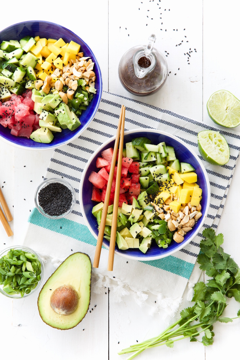 http://camillestyles.com/food-and-drink/from-camilles-kitchen/my-favorite-poke-bowl-2-ways-video/
