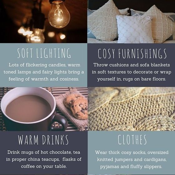 H Y G G E ❤  Head over to our Facebook to see what hygge is all about!  #hygge #soft #warm #cozy #home