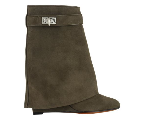 Givenchy Shark Tooth Pant Leg Ankle Bootie