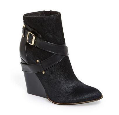 Rachel Zoe suede ankle boot
