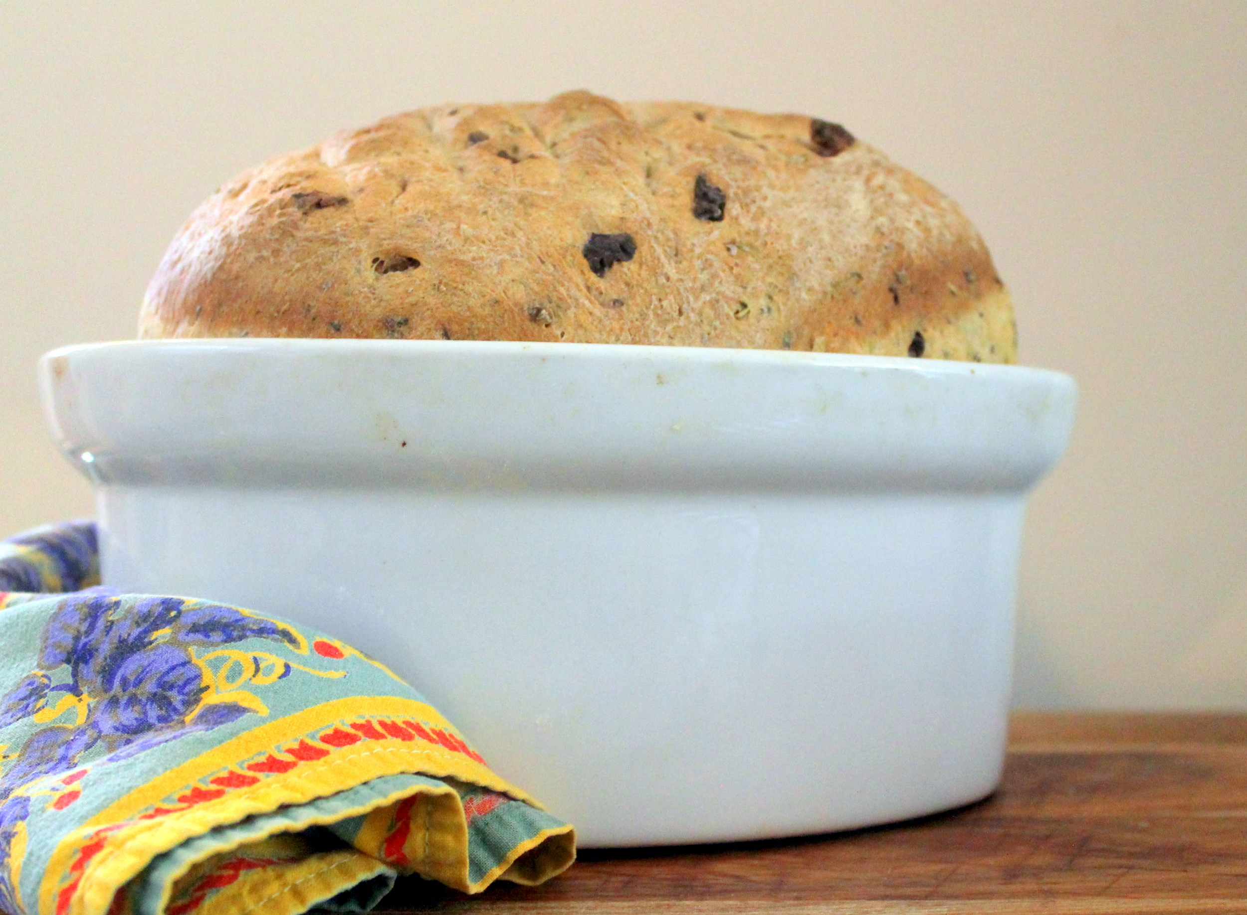 Rustic Olive Bread via The Entertaining House