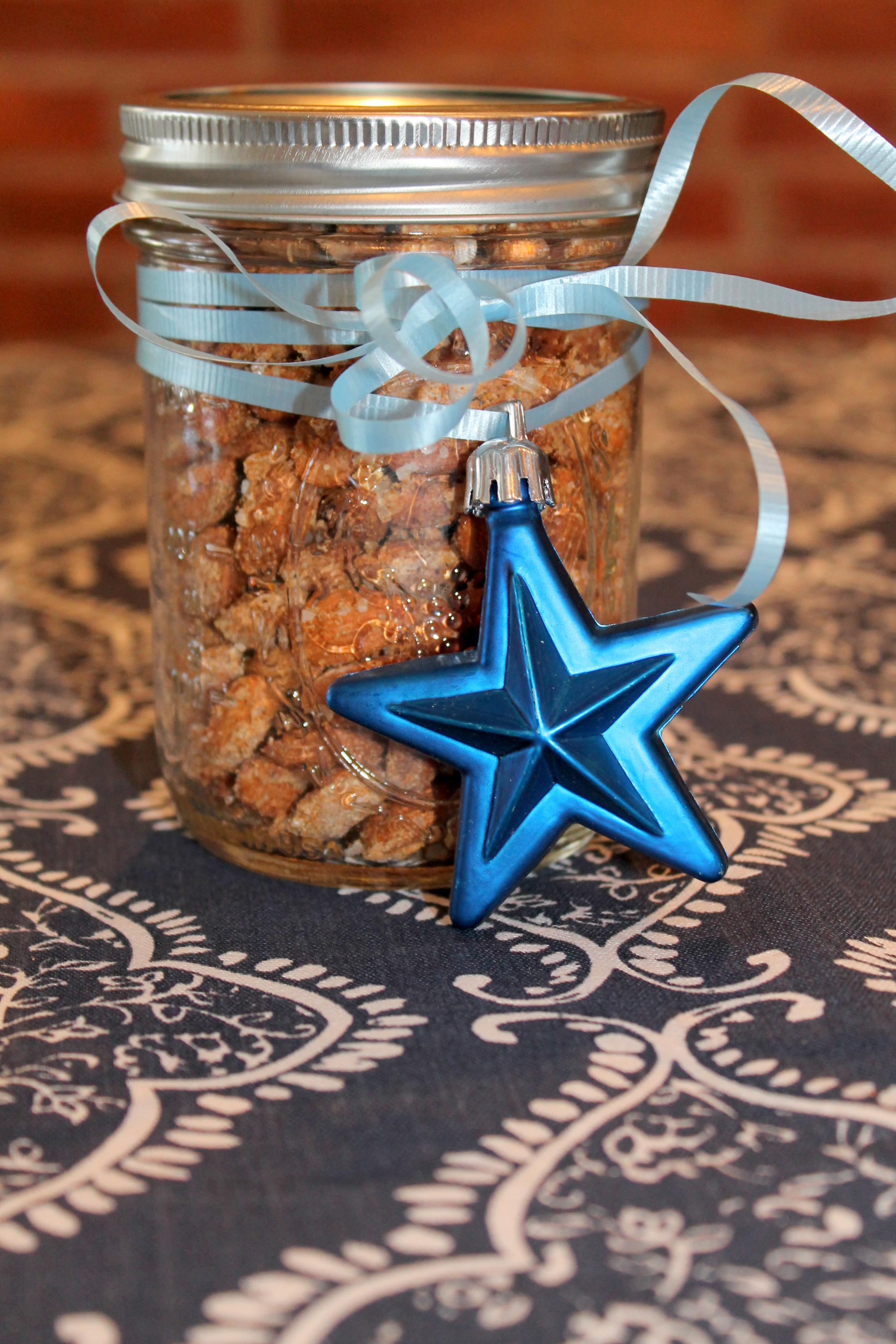 Spiced Almonds with Sea Salt     Image Jessica Gordon Ryan