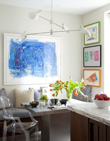 The best way to display your children's art Image via House Beautiful
