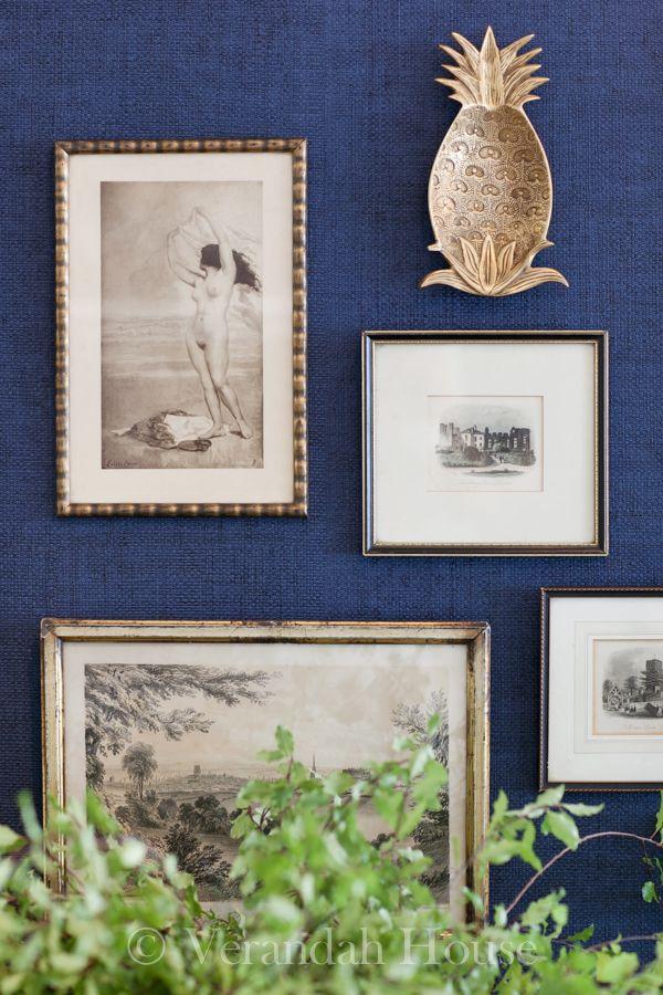 The history of the pineapple in interior design - Image via  Veranda House
