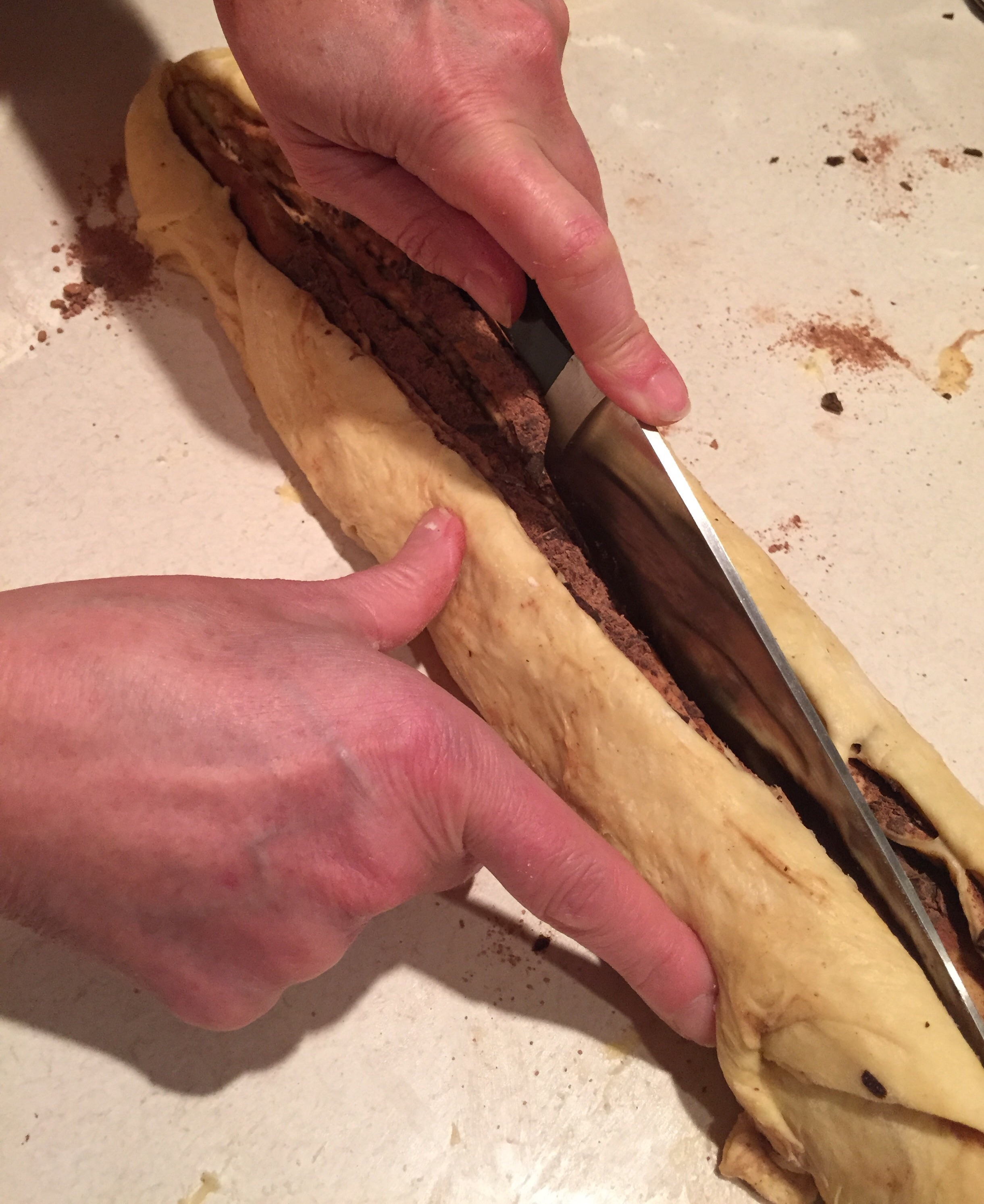 How to make Brioche au chocolat - Image via The Entertaining House