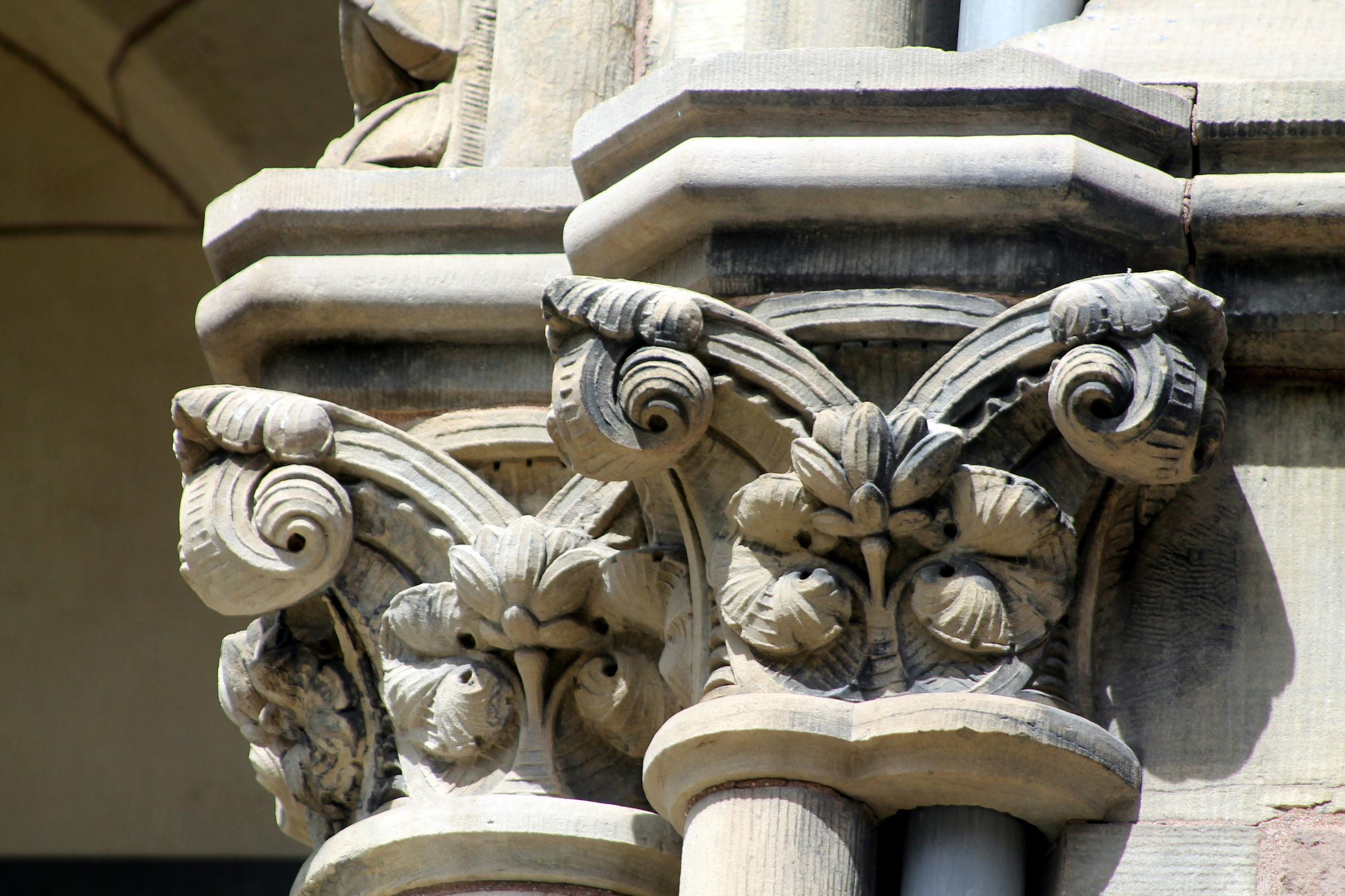 Yale University - architectural detail. Image property of Jessica Gordon Ryan