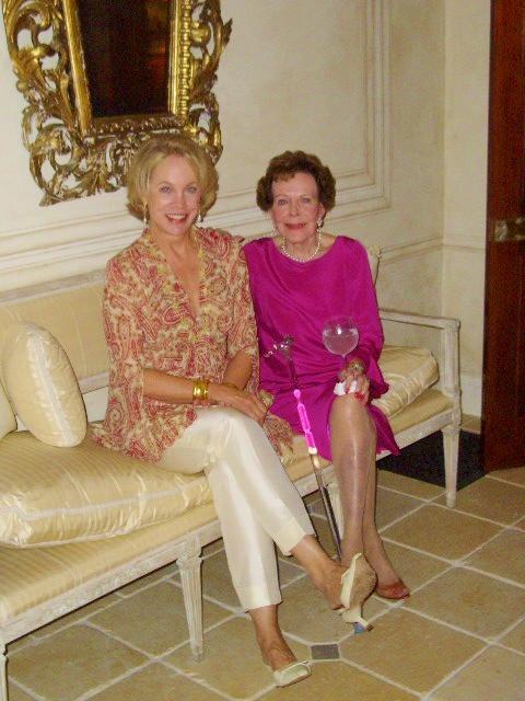 Bettie Bearden Pardee and her mother.Image property of Bettie Bearden Pardee