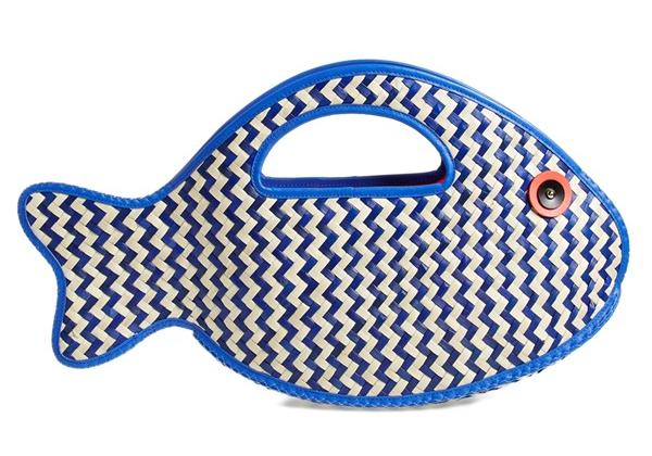 Kate Spade Splash Out Fish Tote,  $298
