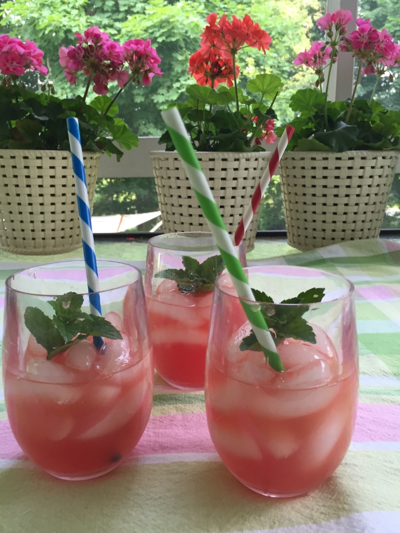 Cool, refreshing watermelon agua fresca is a light beverage the entire family will love. Image The Entertaining House