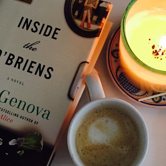 Inside the O'Briens by Lisa Genova. Image by Jessica Moseley Gordon