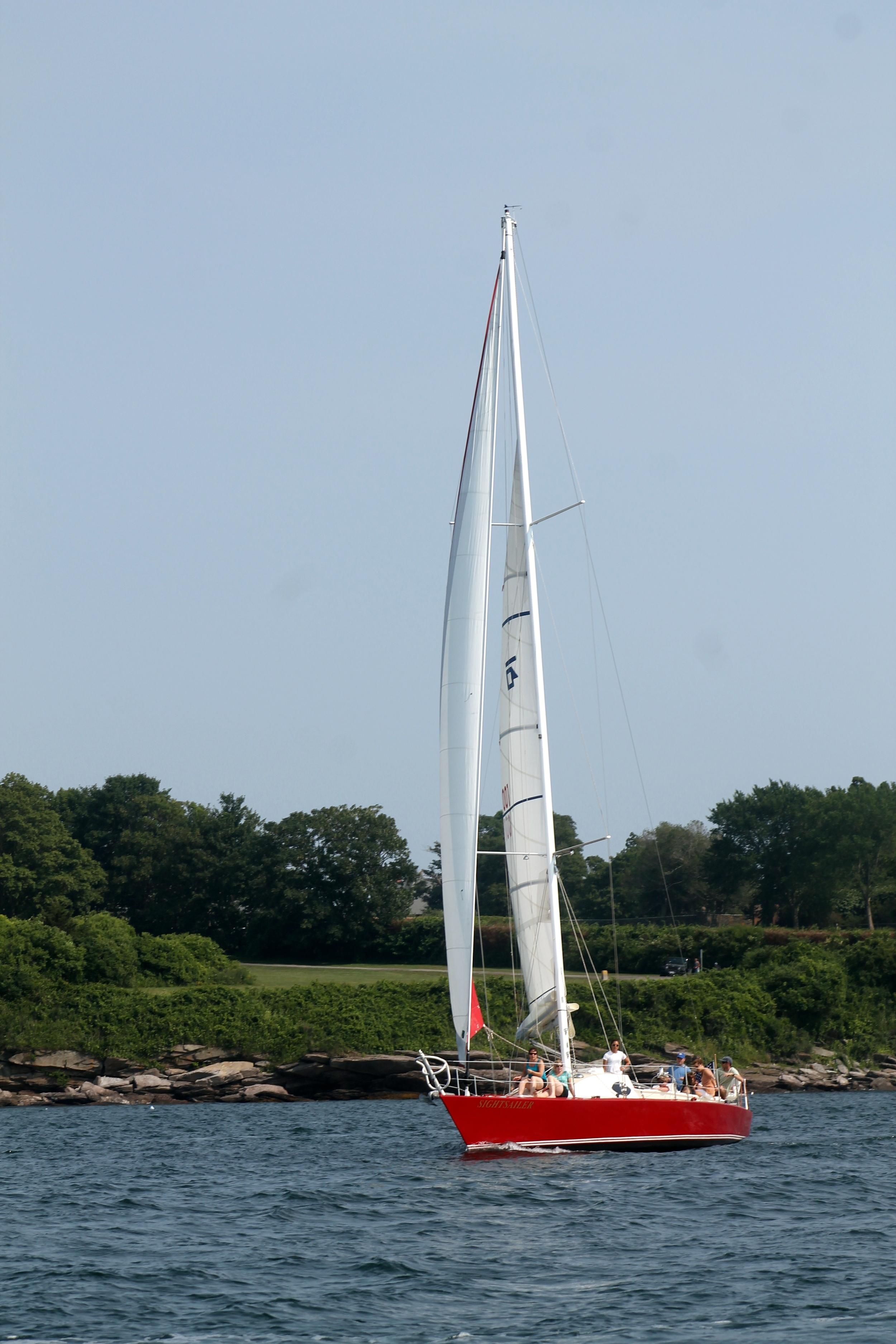 Charter a sailboat in Newport, Rhode Island. Image via Jessica Gordon Ryan
