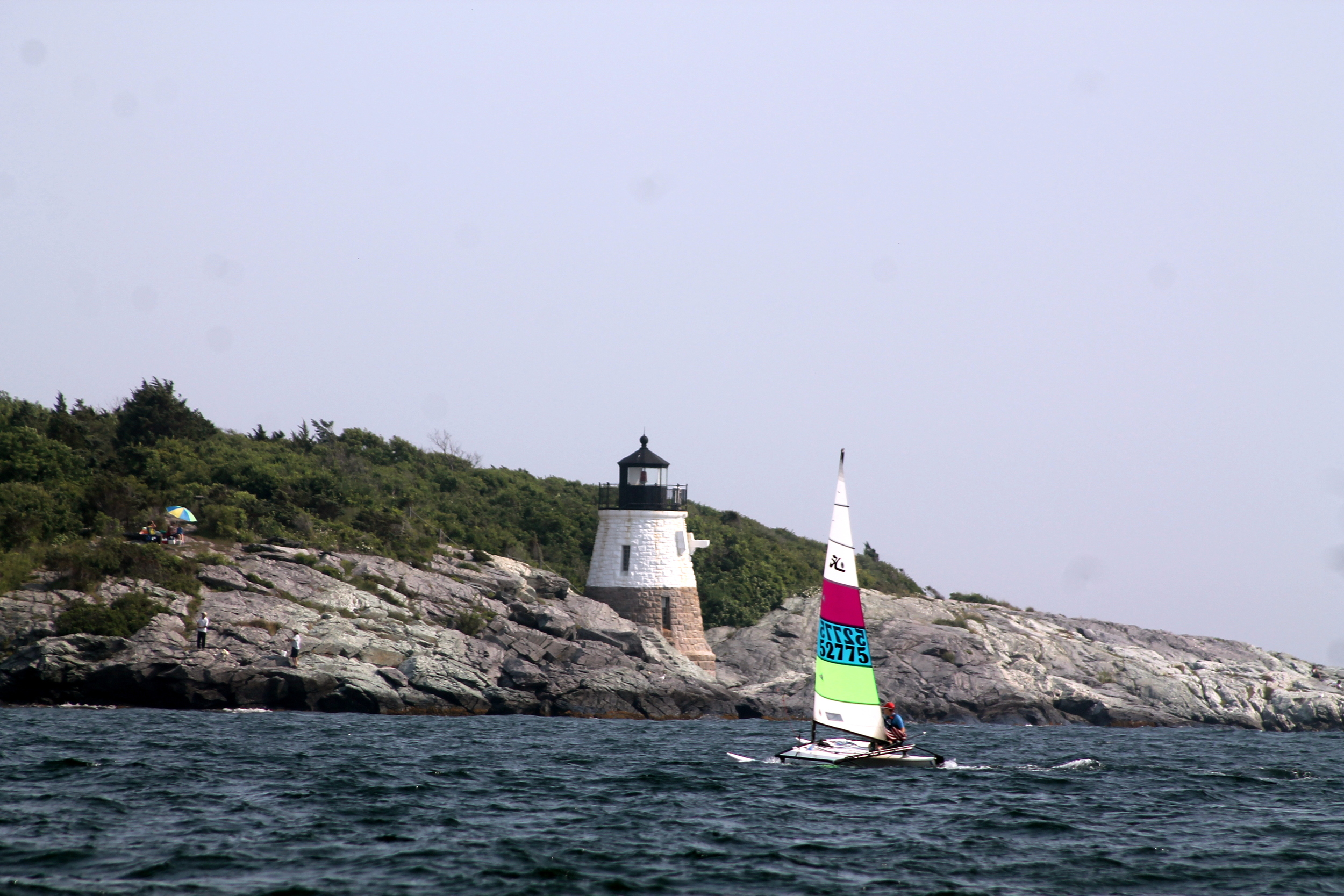 Castle Hill Lighthouse, Newport Rhode Island. Image Jessica Gordon Ryan