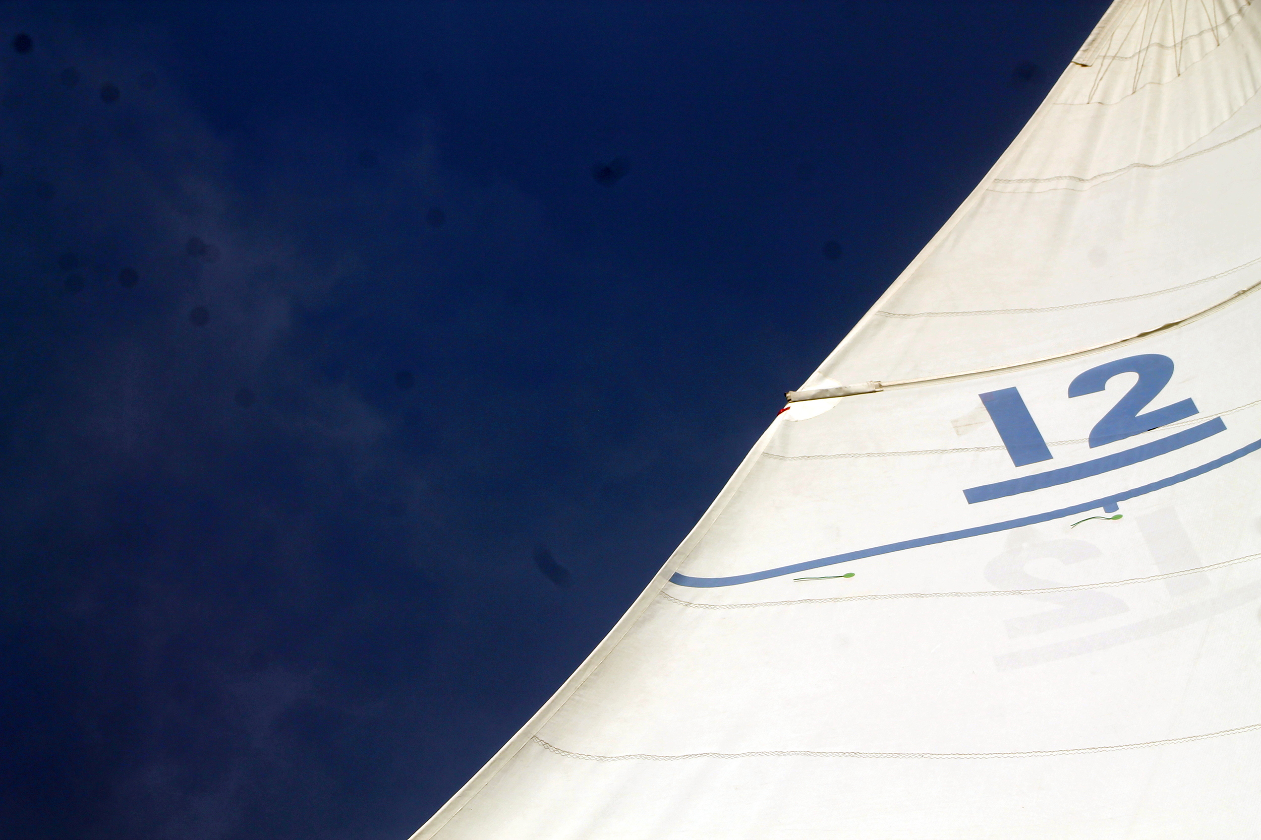Sailing Newport Harbor. Aboard the Nefertiti, America's CupCharters.Image via Jessica Gordon Ryan