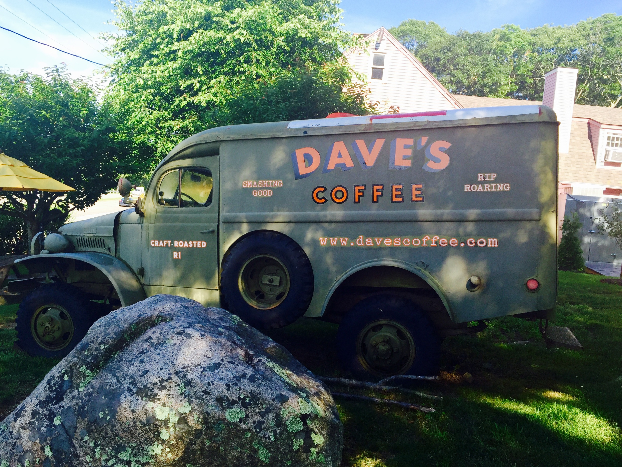 Dave's Coffee. Charlestown, RI. Image Jessica Gordon Ryan