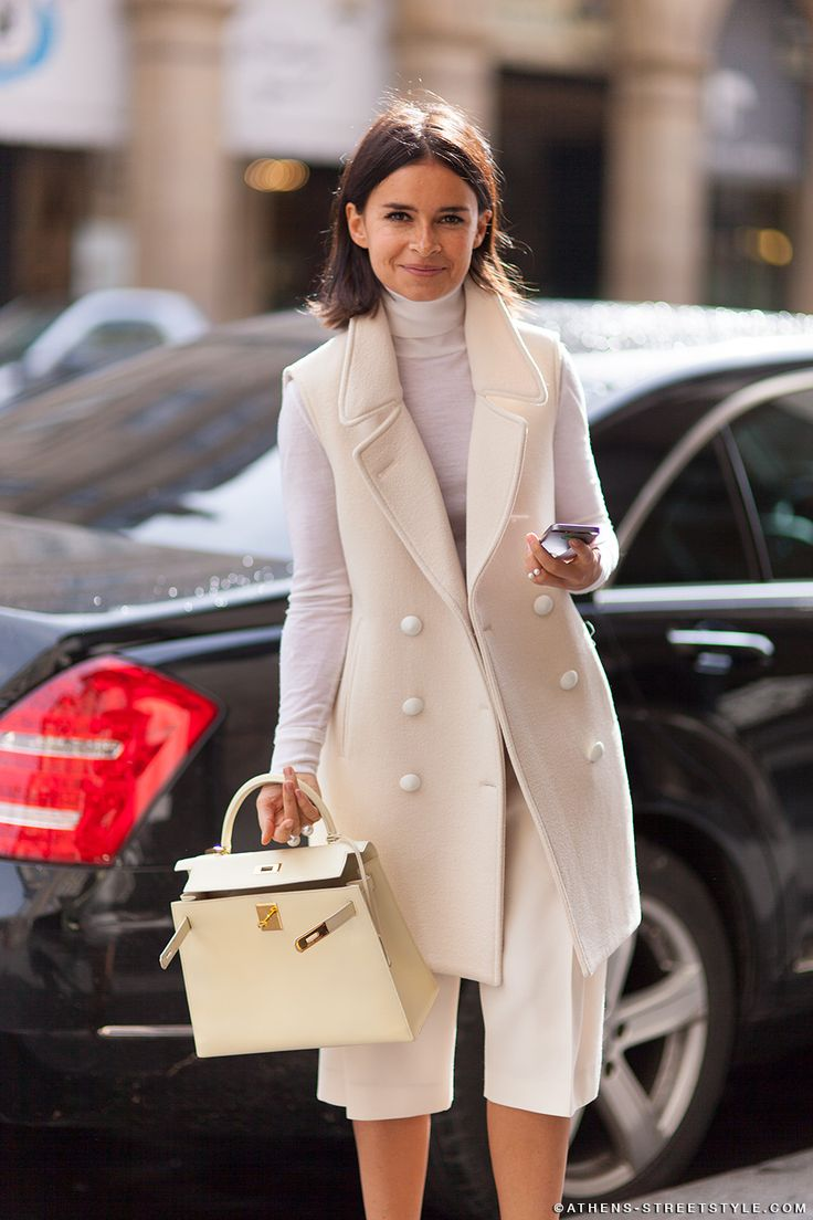 En Vogue (encore) for fall 2015 :: Sleeveless Jackets Image via