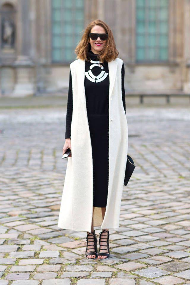 En Vogue (encore) for fall 2015 :: Sleeveless Jackets via