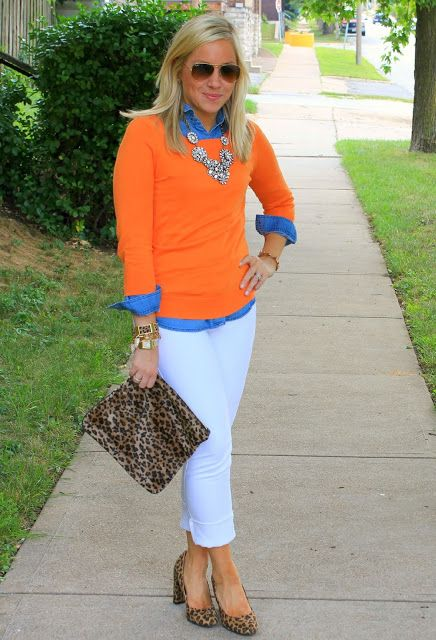 White after Labor Day - Image via Stylin in St. Louis