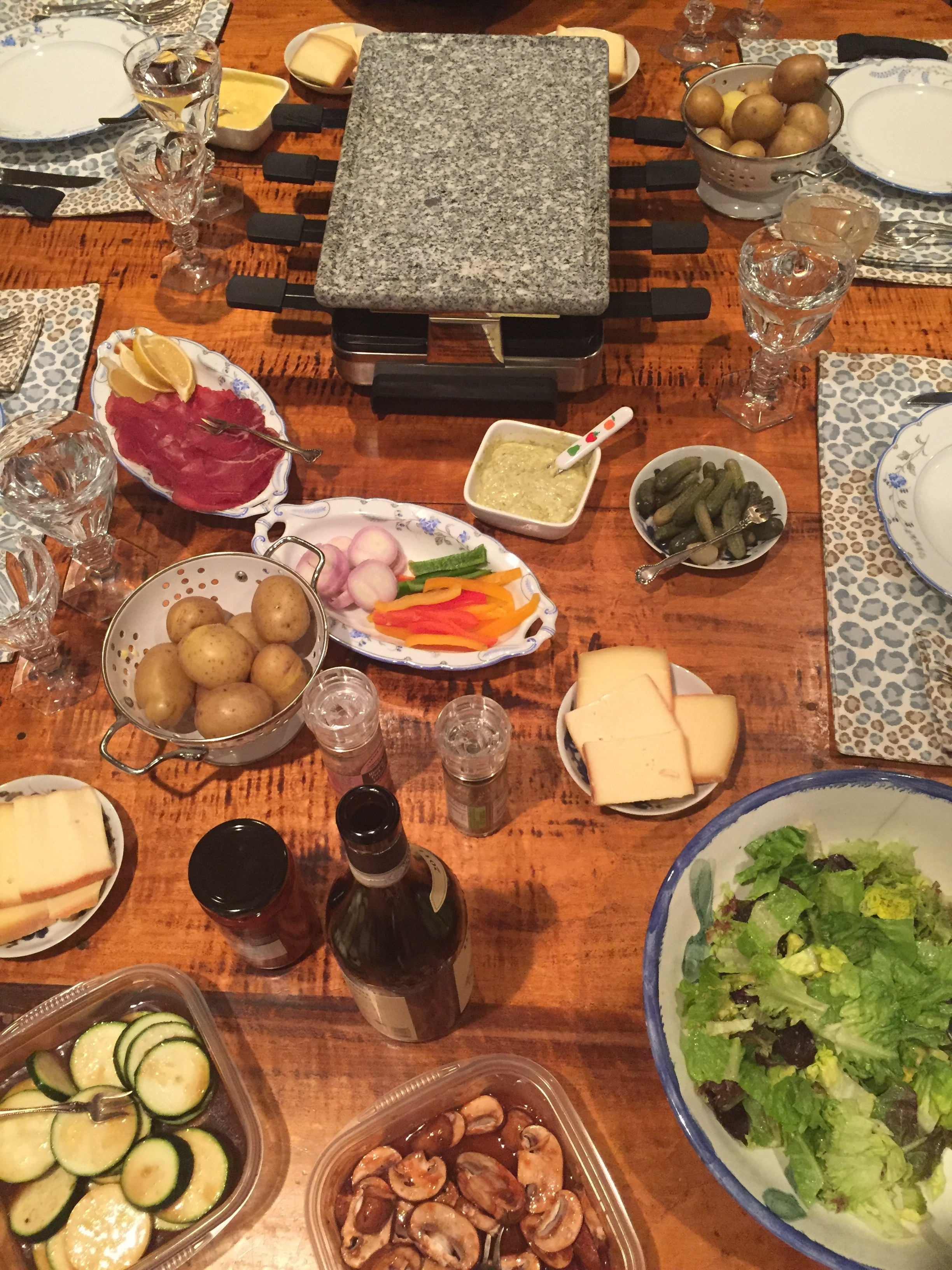 How to Have a Raclette Party - The Entertaining House