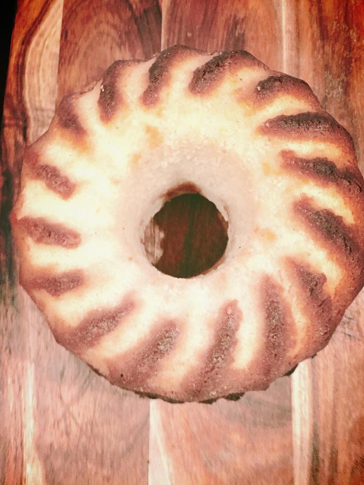 Decadent Eggnog Poundcake. Image via The Entertaining House
