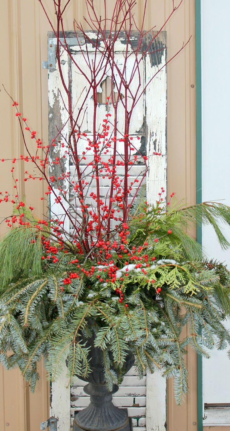 Decorating for the holidays :: Decorating for the holidays when you don't have a tree. The Entertaining House. Image via  Rusty Hinge