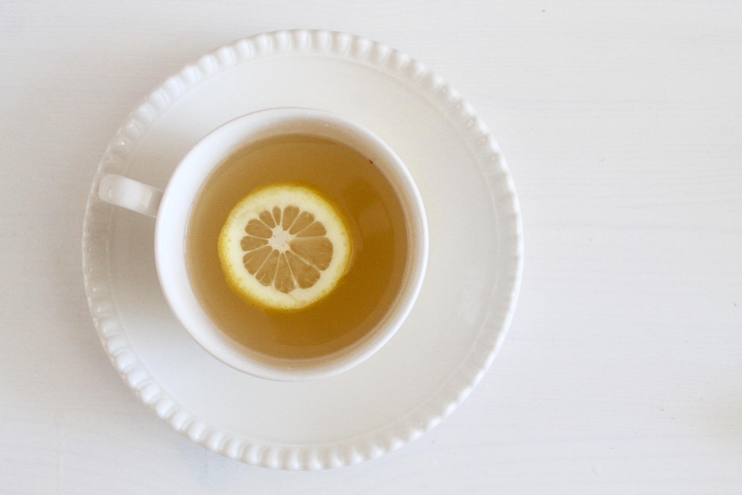 Beneficial Honey Lemon Ginger Tea - The Entertaining House
