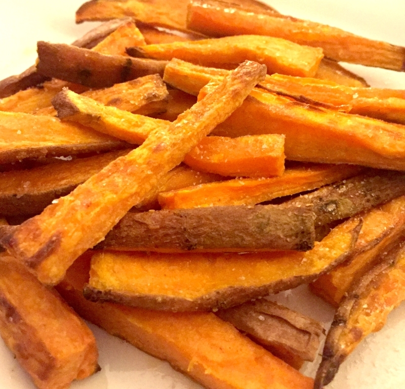 Baked Sweet Potato Fries - The forbidden snack that's good for you!