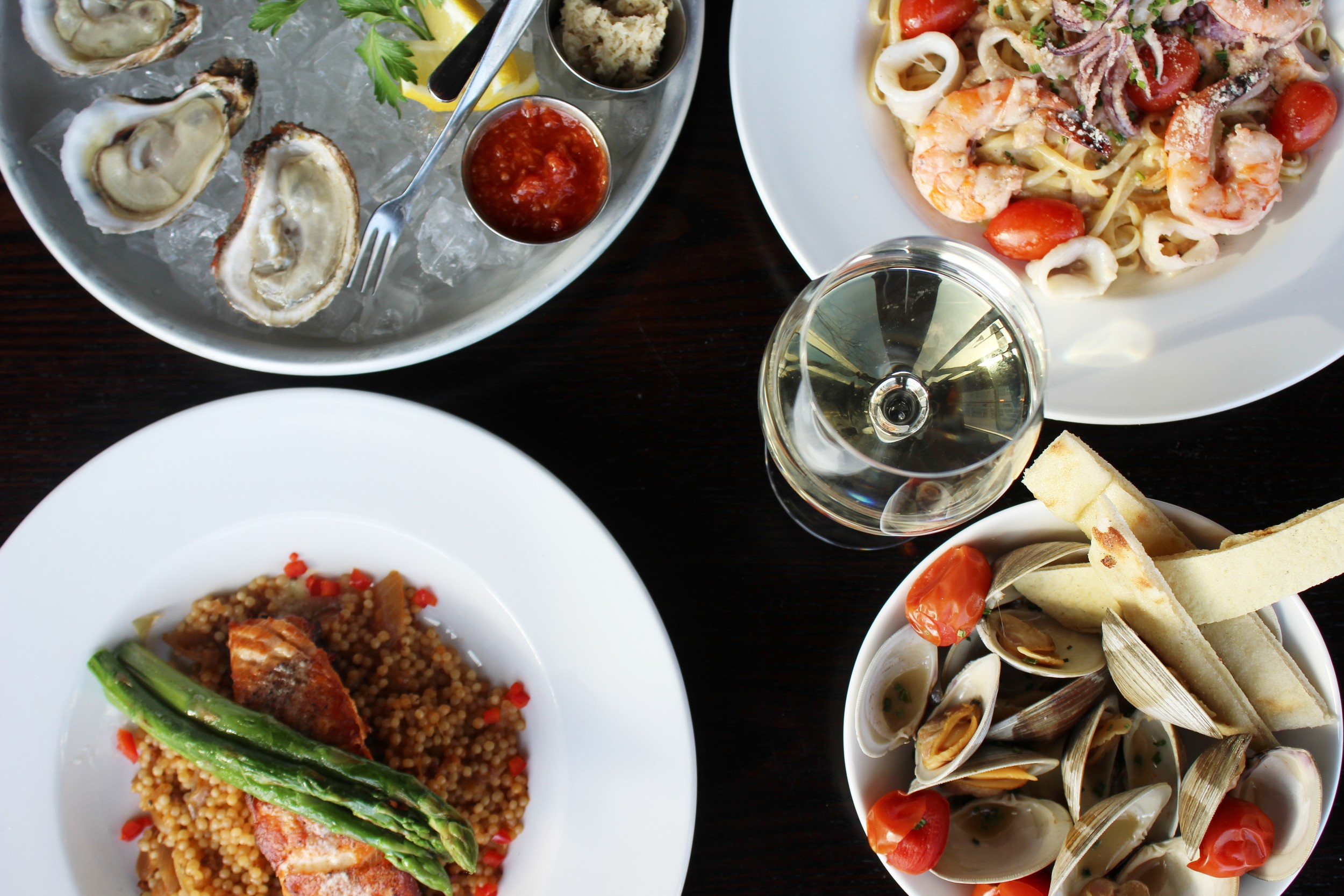 Stamford's Sign of the Whale embraces the Harbor Point waterfront area with a new seafood inspired menu