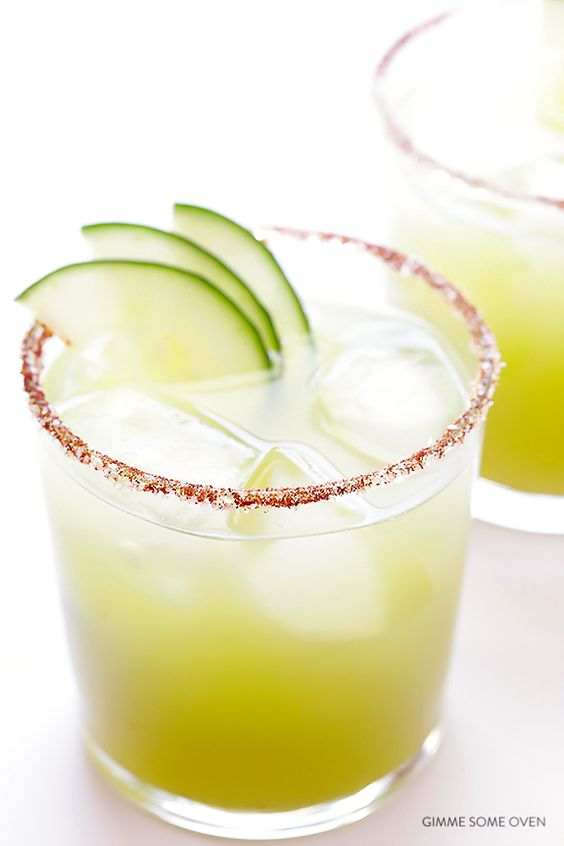 10 Mouthwatering Margarita Recipes. Spicy Cucumber Margarita