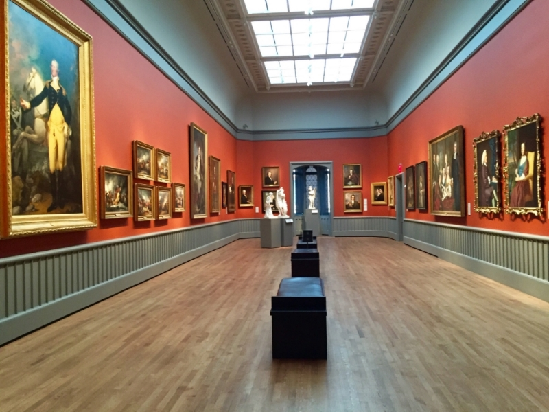 Yale University Art Gallery - an impressive collection