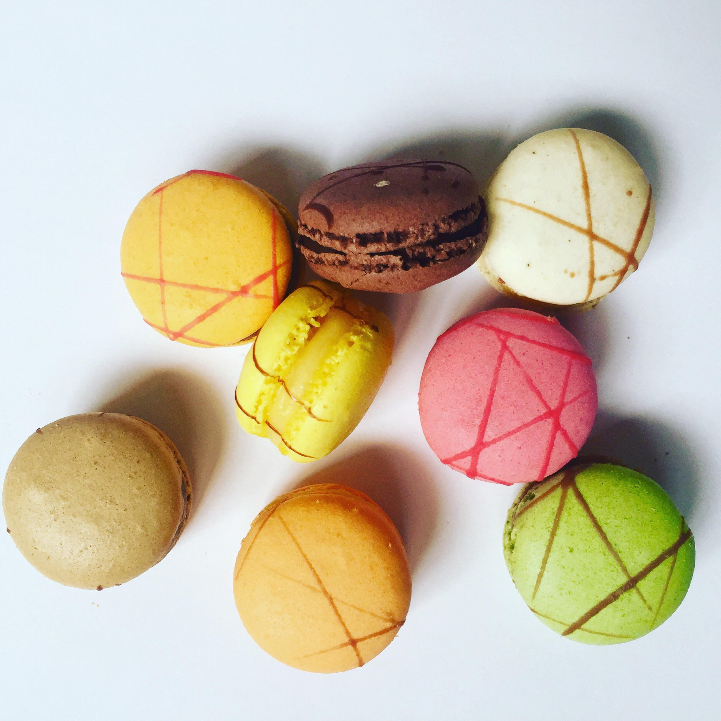 Macarons by Franck. Image property of The Entertaining House.