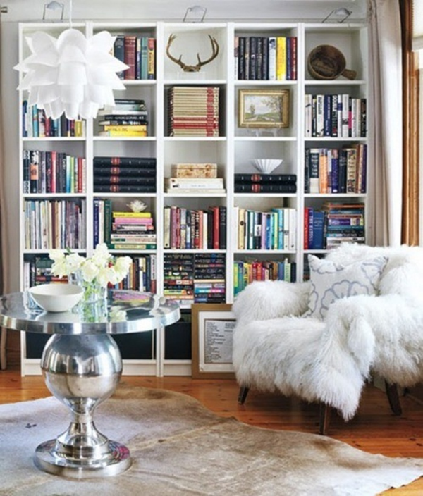 Stunning ways to incorporate your book collections into your home decor. Image Ikea