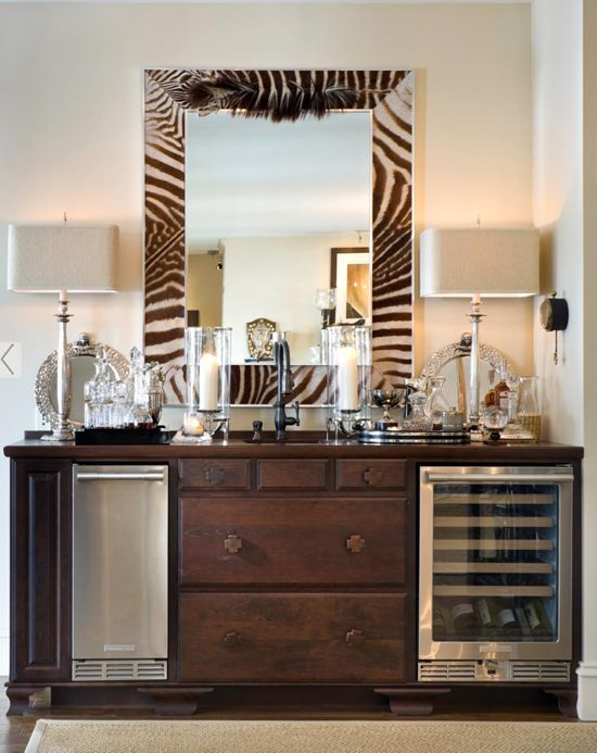 20 Stirring Ideas for Creating a Stunning at home Bar. Image Zhush