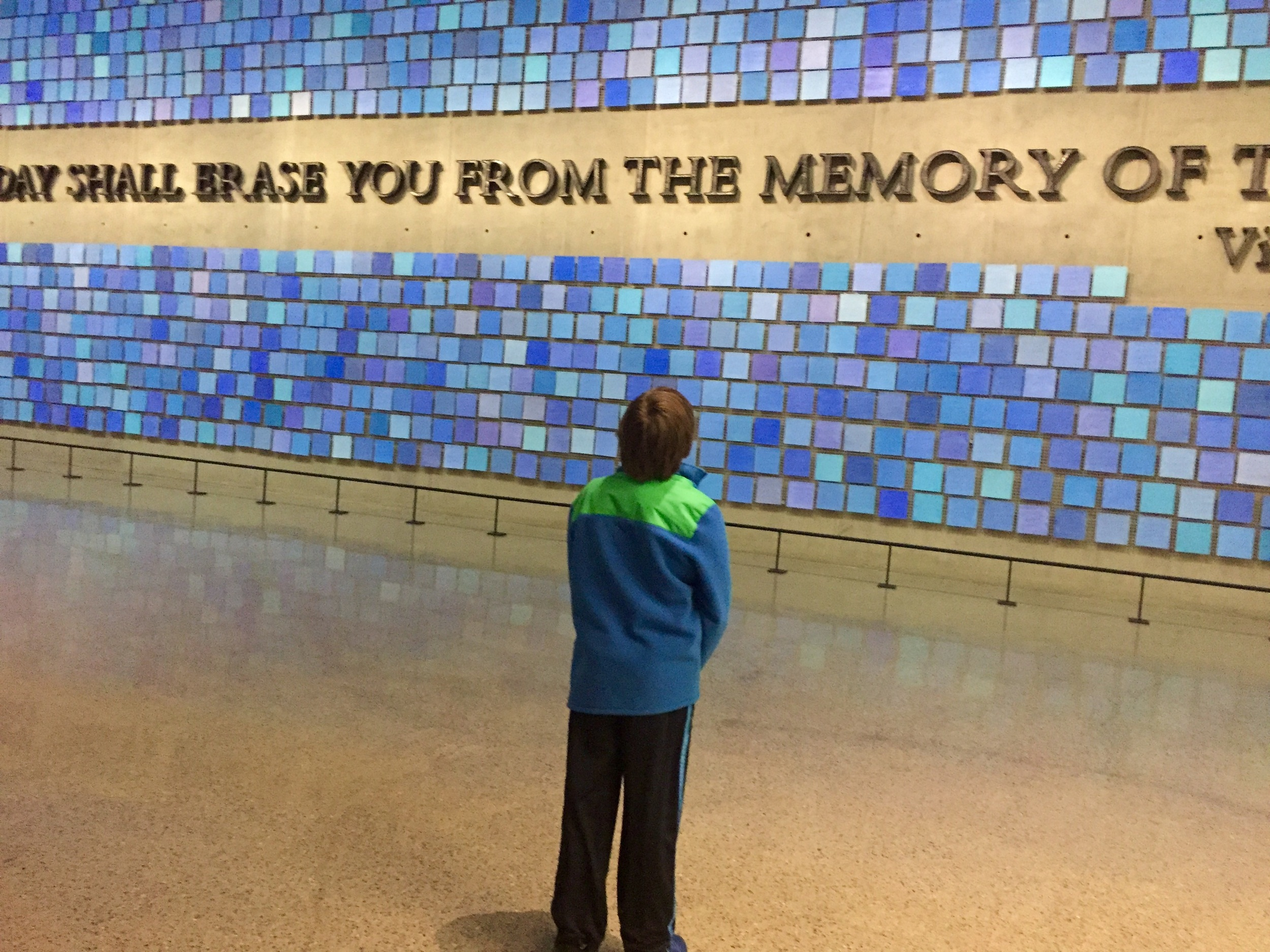 The 9/11 Museum and Memorial. All photographs property of The Entertaining House/Jessica Gordon Ryan