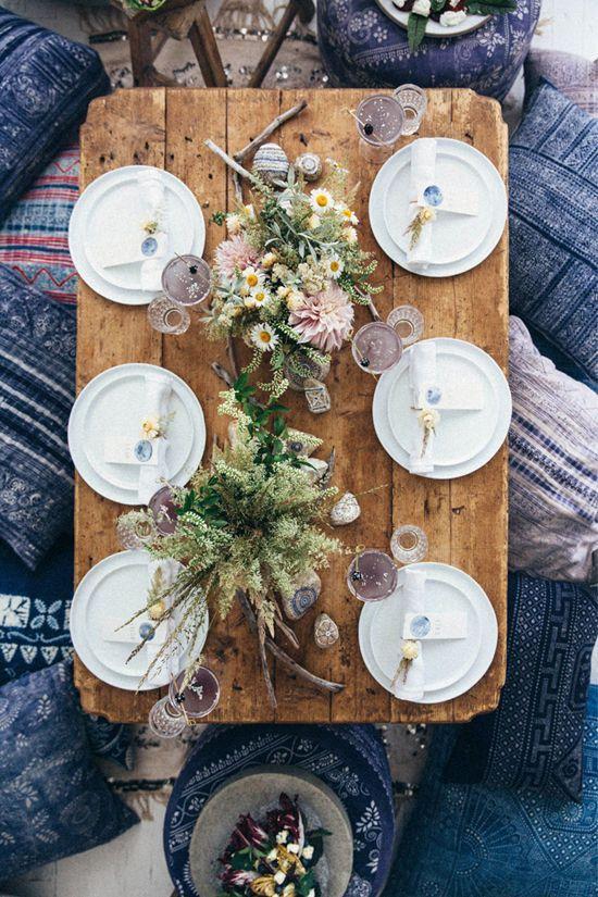 Indoor picnics. Image via Bloglovin'