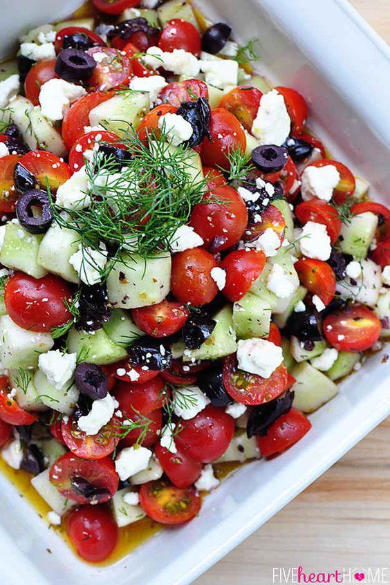 Picnic Salads. Image via Five Heart Home