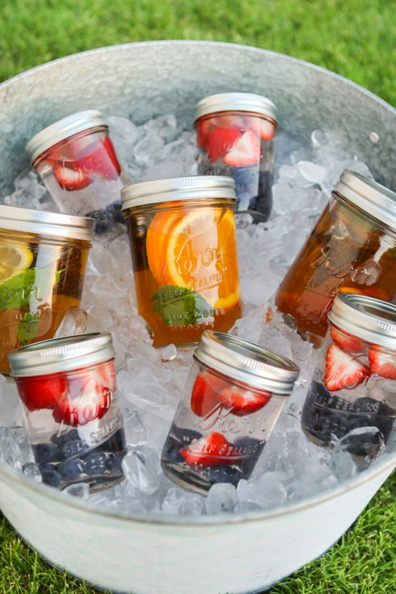 Picnic beverages. Image via Buzz Feed
