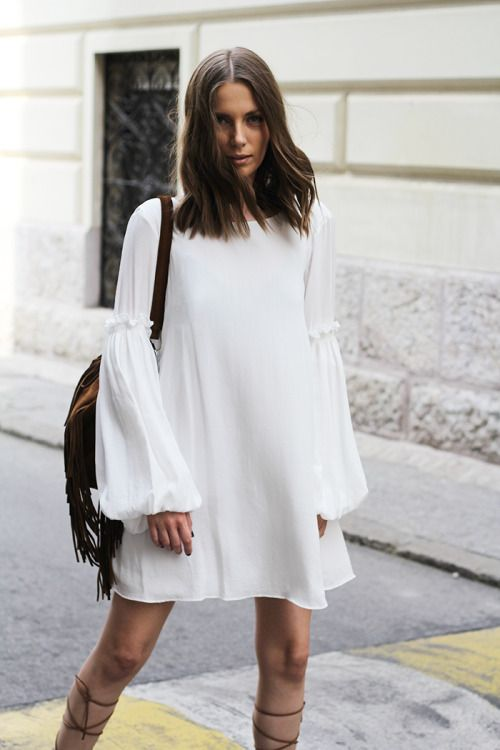 White is Hot! What to wear this summer via The Entertaining House. Via Tumblr