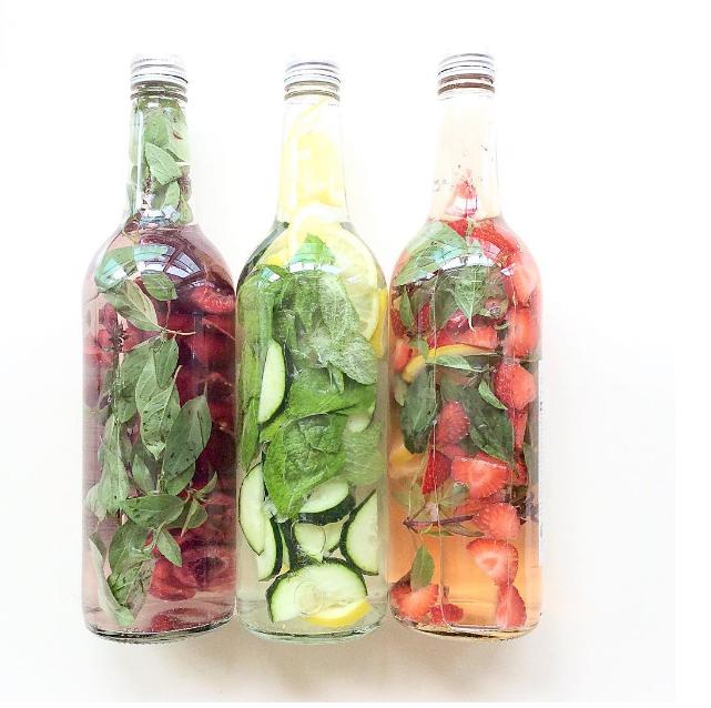 Drink this in a heatwave! Image via  ElleDecor