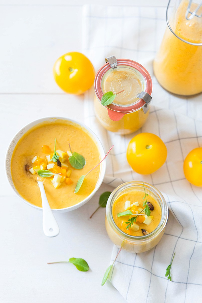 Eat the Rainbow :: 10 Mouthwatering Gazpacho Recipes You Simply Must Try
