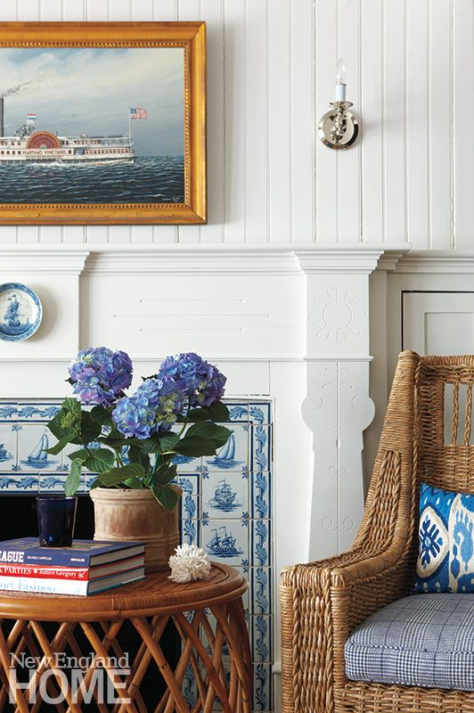 Designing a New England Style Home. Image  via