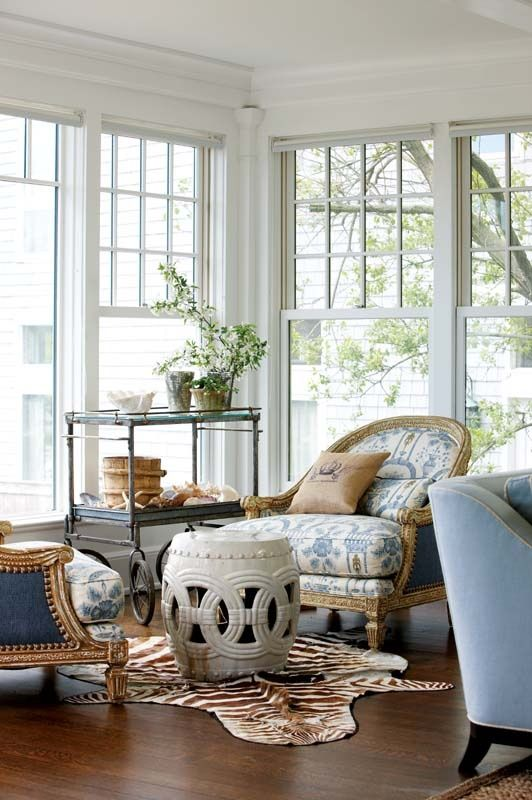 Elements of a New England Style Home. Image via New England Home Magazine.